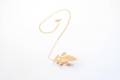řetízek vavřín (růžové zlato)